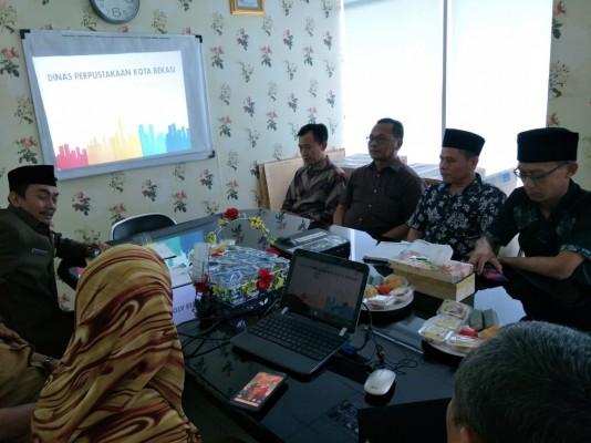 Kunjungan DPRD Kabupaten Purwakarta  Ke Disperpus Kota Bekasi