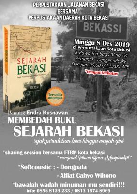 Membedah Buku Sejarah Bekasi Oleh Penulis : Endra Kusnawan ...